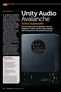 SOS Avalanche Review