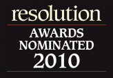 Resolution awards nominated 2010